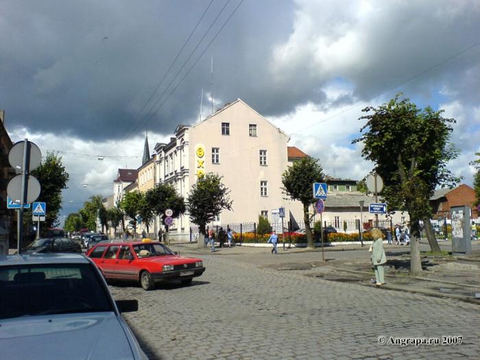 Улица Ленина (рядом с магазином «Дешево»), Черняховск
