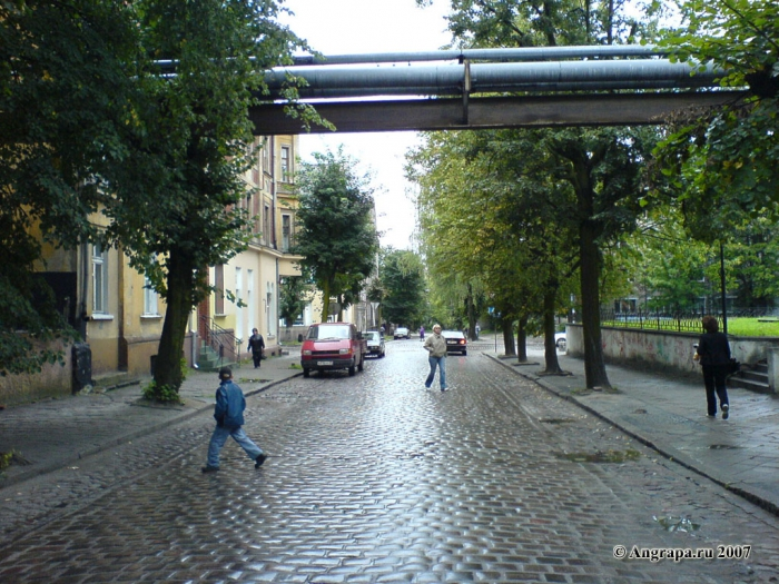 Улица Крупской, Черняховск