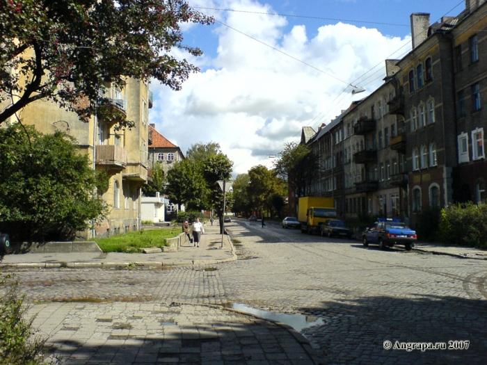Перекресток улиц Тельмана и Советской, Черняховск