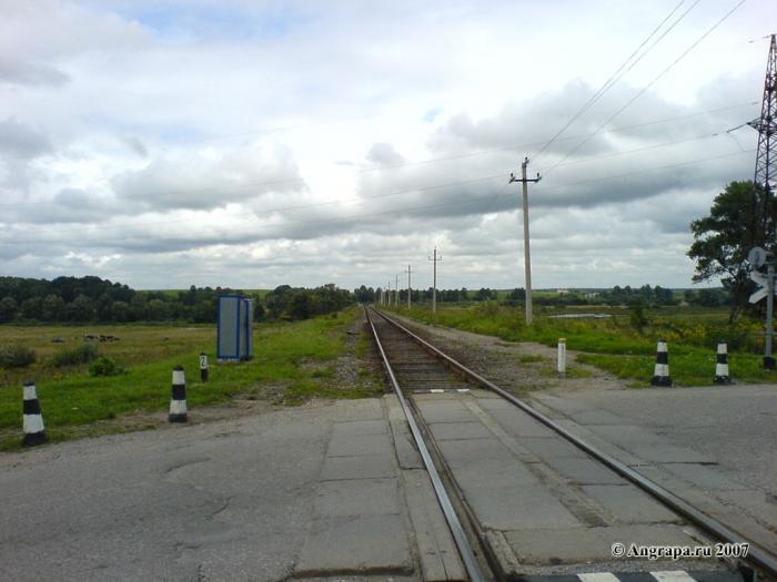 Железнодорожный переезд (улица Черняховского), Черняховск