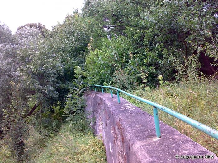 Набережная реки Анграпа (в районе железнодорожного моста), Черняховск