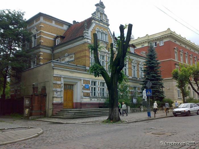 Здание музыкальной школы (ул. Пионерская), Черняховск