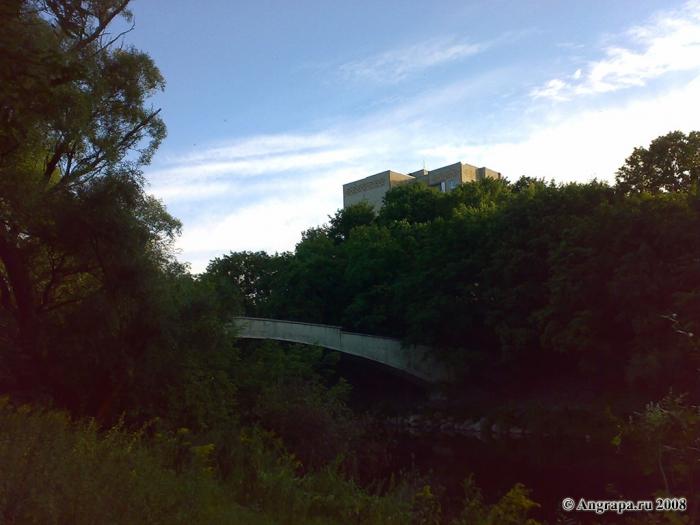 Вид на арочный мост, Черняховск