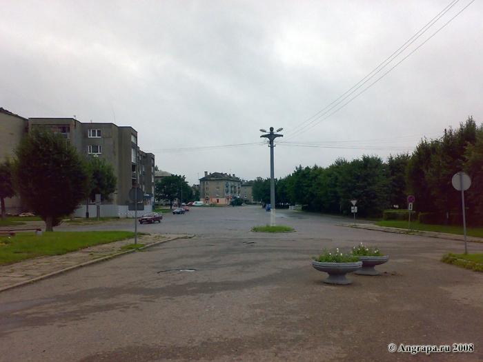 Площадь Ленина, Черняховск