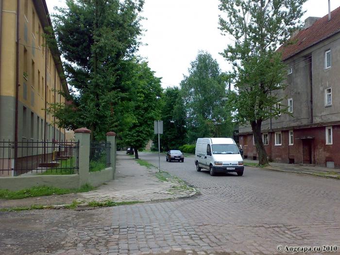 Улица Гагарина (рядом со средней образовательной школой №1), Черняховск