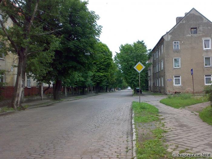 Улица Гагарина (недалеко от средней образовательной школы №1), Черняховск