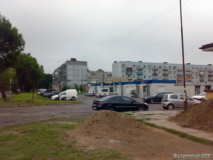 Улица Ленинградская (рядом с магазином «Северный»), Черняховск