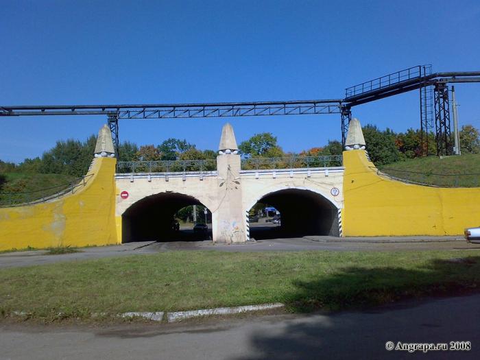 Автомобильный тоннель, улица Курчатова, Черняховск