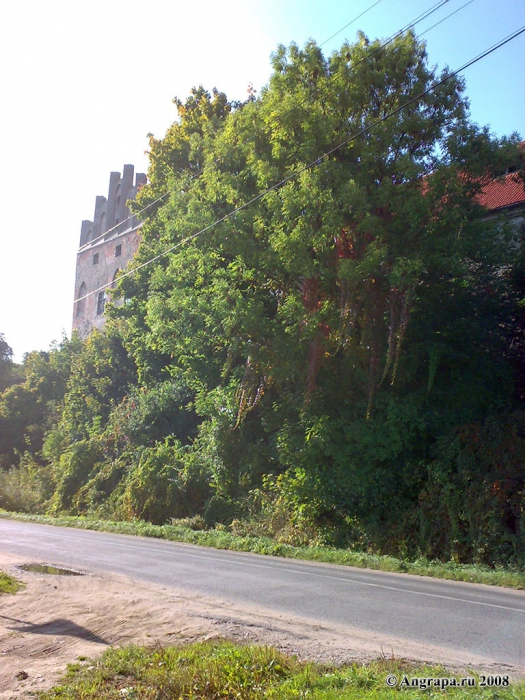 Вид на замок Георгенбург, Черняховск