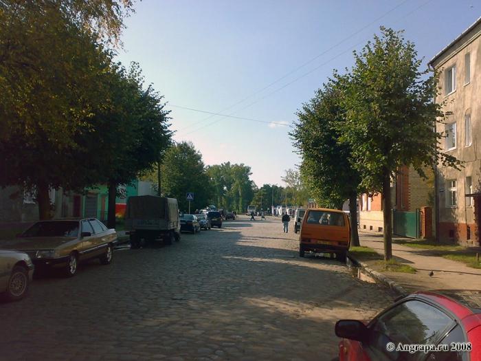 Улица Пушкина, Черняховск