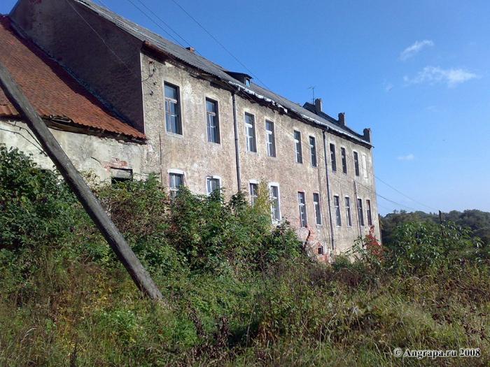 Замок Георгенбург (западное крыло), Черняховск
