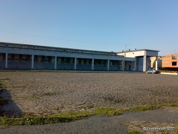 Центральный рынок и Театральная площадь, Черняховск