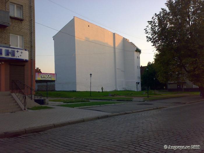 Вид на здание (ул. Калининградская), Черняховск