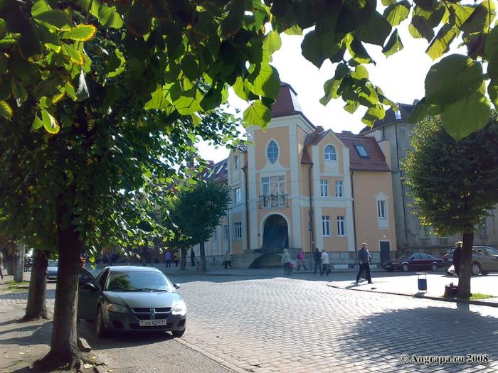 Здание на улице Ленина, Черняховск