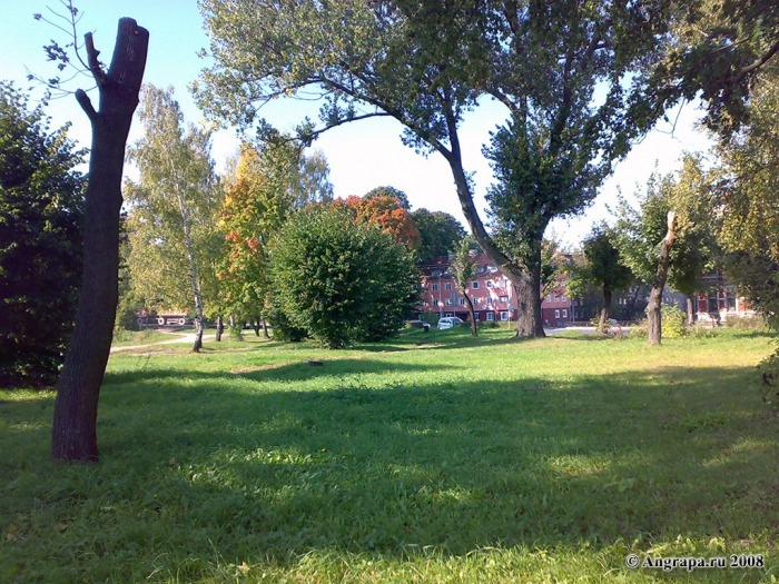 Парк рядом с Замковым прудом, Черняховск