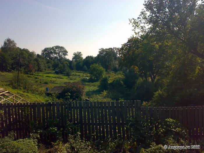 Вид на частные участки, улица Курчатова, Черняховск