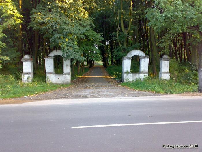 Парк рядом с переулком Казарменным, Черняховск