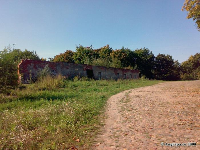 Территория замка Инстербург, Черняховск