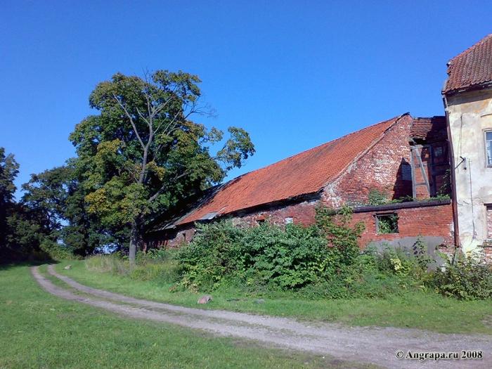 Сохранившаяся часть замка Инстербург, Черняховск
