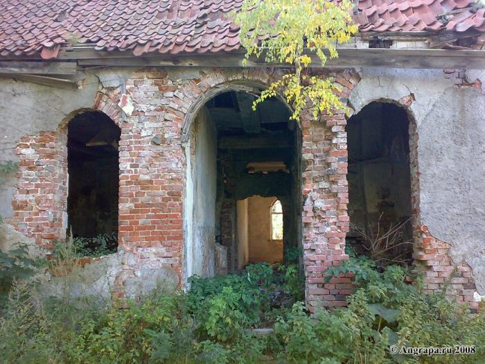 Замок Георгенбург (разрушенная часть), Черняховск