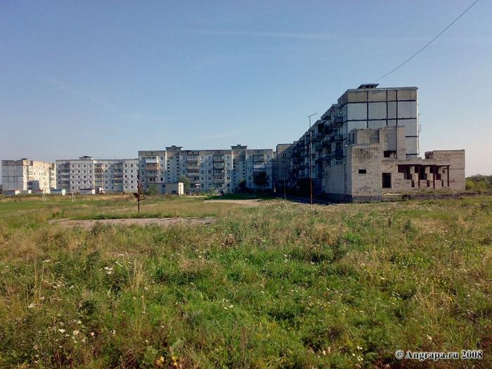 Улица Российская, многоквартирные дома, Черняховск