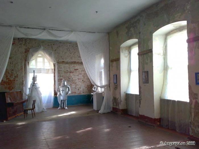Зал в сохранившейся части замка Инстербург, Черняховск