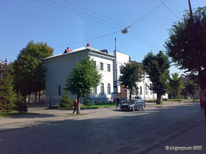 Городской дом культуры на улице Ленина, Черняховск