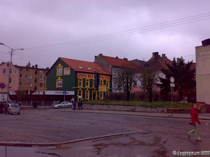 Вид на улицу Калинина (со стороны Театральной площади), Черняховск