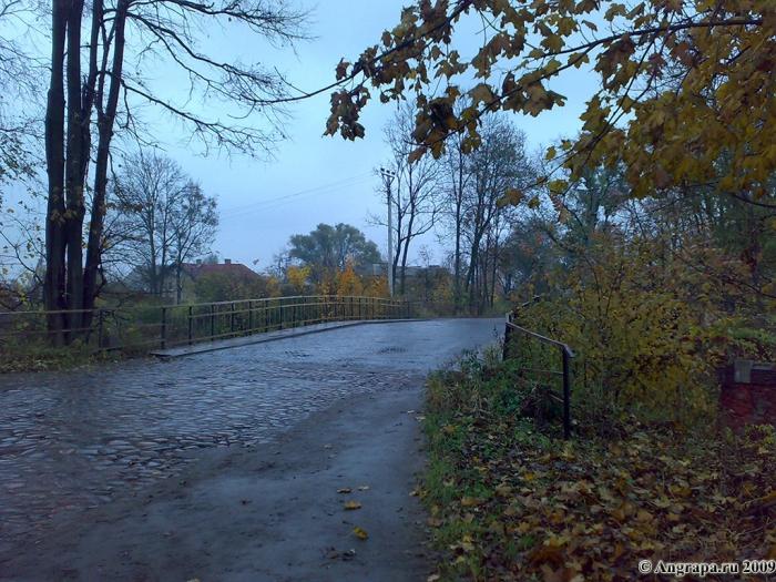 Путепровод над железнодорожными путями. Улица Ленинградская, Черняховск