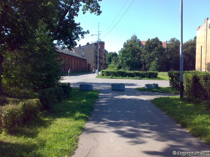 Вид на улицу Спортивную, Черняховск