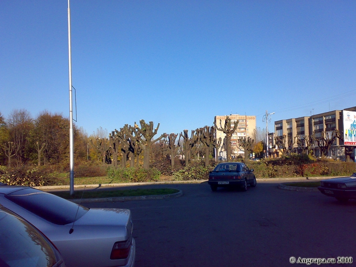 Площадь Ленина (парк), Черняховск