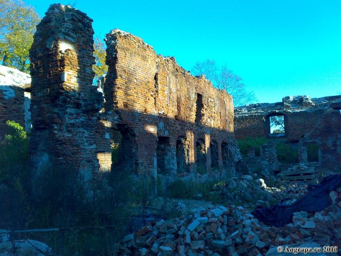 Замок Инстербург (внутренний двор), Черняховск