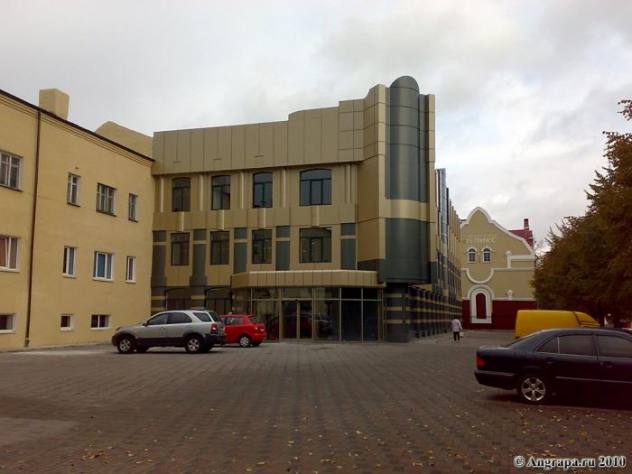 Улица Спортивная, Черняховск