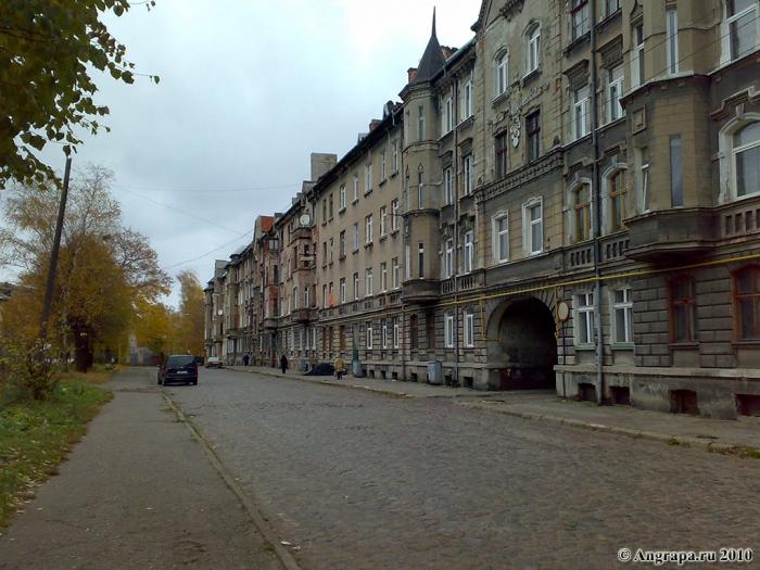 Улица Комсомольская, Черняховск