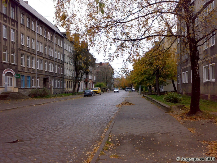 Улица Тельмана, Черняховск