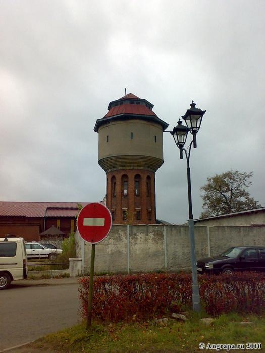 Водонапорная башня (рядом с железнодорожным вокзалом), Черняховск