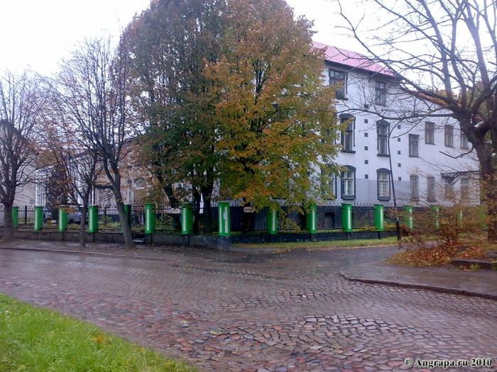 Улица Железнодорожная, Черняховск