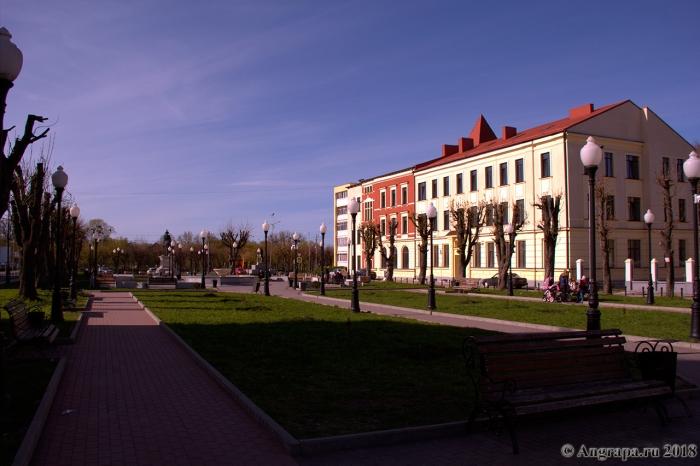 Черняховск, Весна 2018
