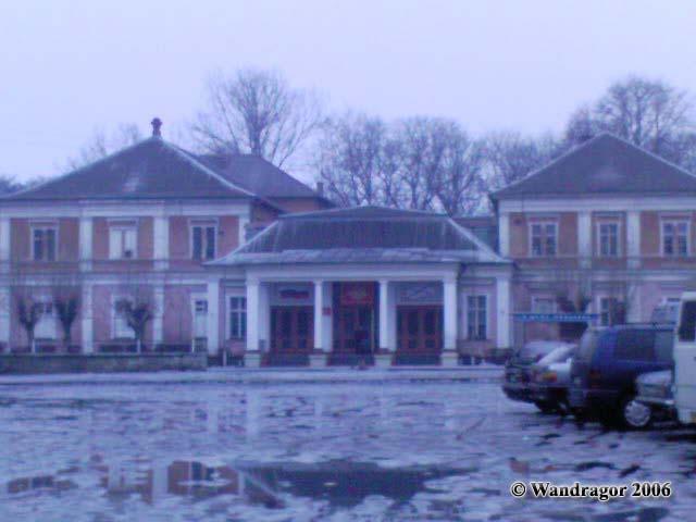 Дом Офицеров и Театральная площадь, Черняховск