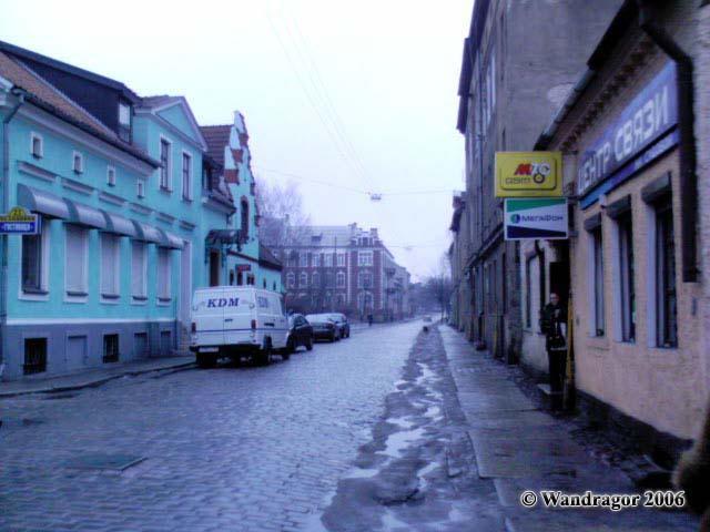 Улица Садовая, Черняховск