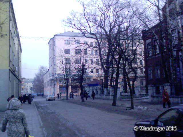 Улица Калинина (рядом с зоновым узлом связи (Почтампт)), Черняховск