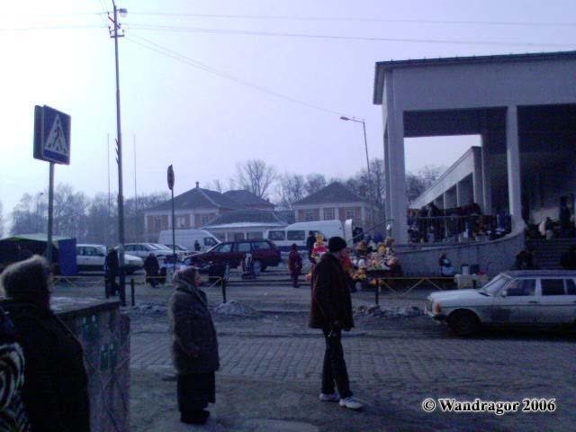 Вид на Центральный рынок со стороны улицы Калинина, Черняховск