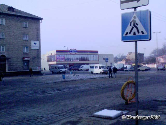 Перекресток улиц Пионерской и Калининграсдкой, Черняховск