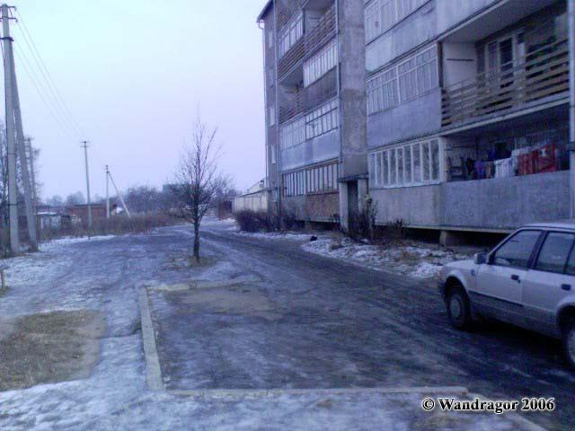 Район водоканала (улица Черняховского), Черняховск