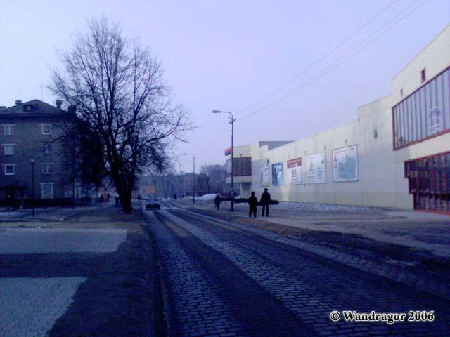 Улица Калининградская (рядом с супермаркетом «Вестер»), Черняховск