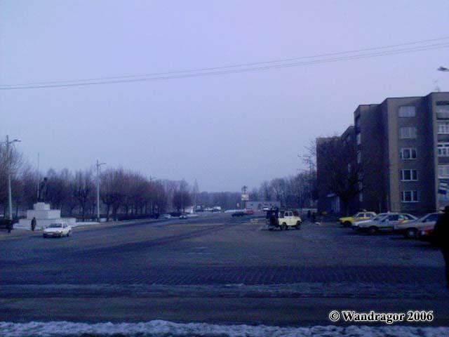 Вид на площадь Ленина (со стороны улицы Калининградской), Черняховск