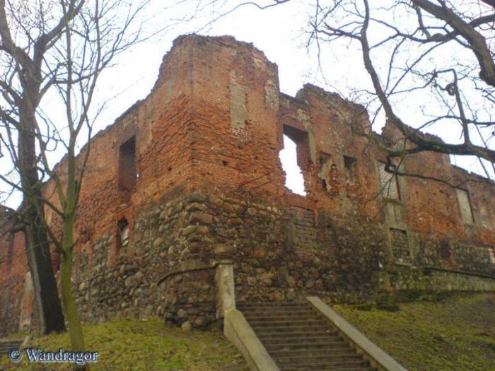 Замок Инстербург (угол улиц Льва Толстого и Партизанская), Черняховск