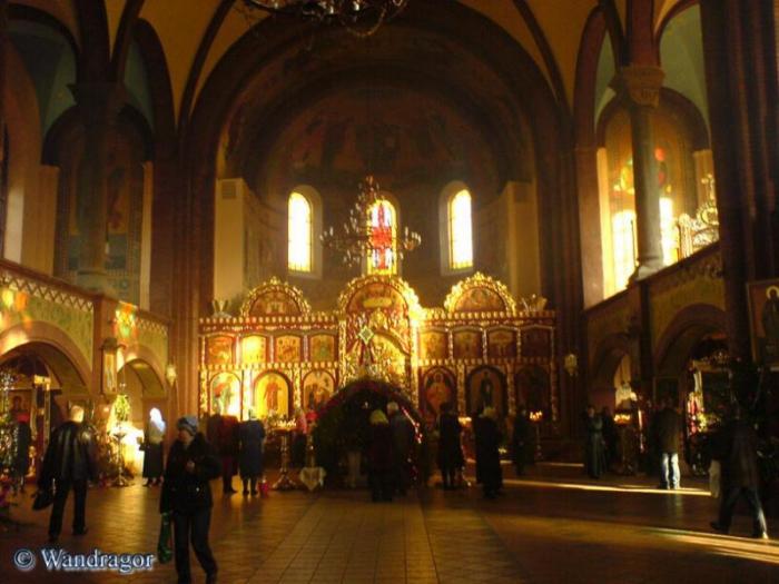 Внутреннее убранство Свято-Михайловского храма, Черняховск