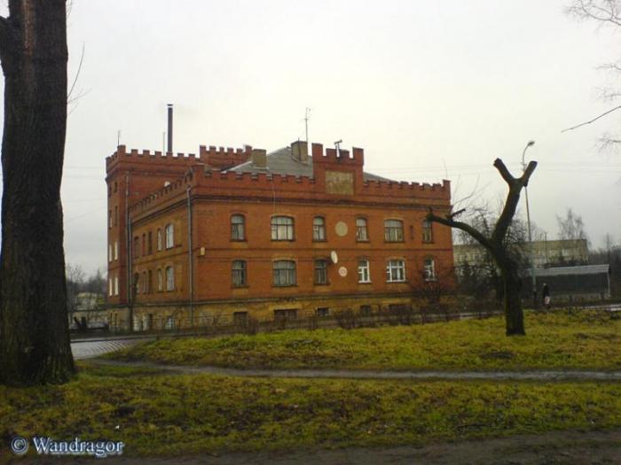 Здание 1336 года постройки (мельница). Улица Партизанская, Черняховск