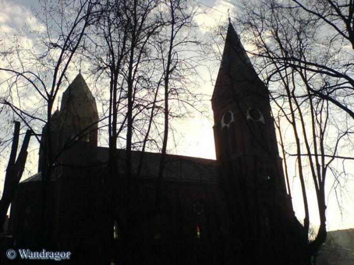 Свято-Михайловского храм (вид с улицы Пионерской), Черняховск